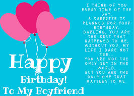 happy birthday poems for boyfriend poetry