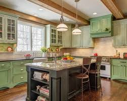 Green Kitchen Cabinets Photos Of Green Kitchen Cabinets Classy For Diy Home Interior
