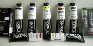 which acrylic paints do we stock australia golden acrylic paints