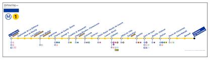 La Metro Map Pdf by Paris Metro Maps Plus 16 Metro Lines With Stations