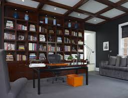 Contemporary Home Office Furniture 20 Library Home Office Designs Decorating Ideas Design Trends