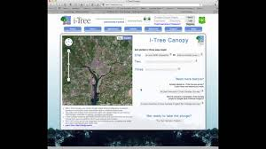 i tree canopy overview youtube