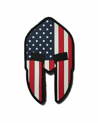 Ir American Flag Patch The American Spartan Helmet Come And Take It 2x3