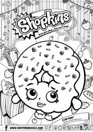 shopkins coloring pages printable shopkins strawberry colouring