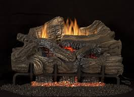 nice black steel material ideas for gas fireplace design also