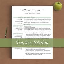 Resume Words For Teachers Resume Templates Retired Teacher Teacher Resume Template Clean