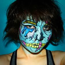 reddit u0027s makeup addicts elevate halloween face paint to the