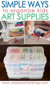 best 25 organize art supplies ideas on pinterest art supplies