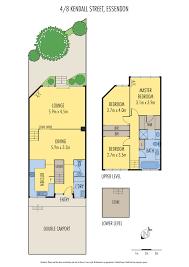 787 Floor Plan by 4 8 Kendall Street Essendon Vic 3040