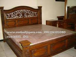 Dipan Kayu Kalimantan nurhadijepara tempat tidur