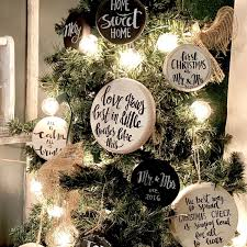 Wooden Christmas Ornaments To Make Looking To Add Some Rustic Ornaments To Your Farmhouse Style