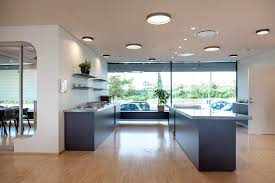 Home Office Ceiling Lighting by Contemporary Ceiling Light Round Aluminum Acrylic Lp