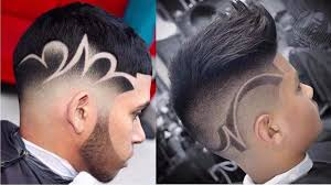 Haircuts With Designs Fade Haircut