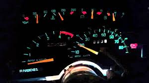 1990 chevy truck needle gauge installed youtube