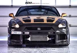 Nissan Gtr R35 - gold carbon nissan gtr r35 by ams performance