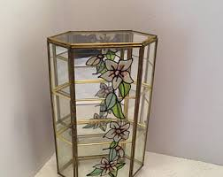 Wall Mounted Glass Display Cabinet Singapore Curio Cabinet Etsy