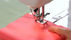 how to make a zigzag stitch sewing machine youtube