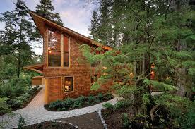 west coast rainforest cedar timber frame home future home ideas