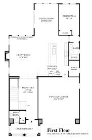 Italian Restaurant Floor Plan San Ramon Ca New Homes For Sale Romana At Gale Ranch