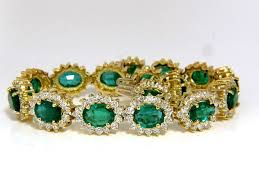 diamond emerald bracelet images 30 26ct natural zambia vivid green emerald diamonds bracelet 8 5 JPG