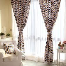 Polka Dot Curtains Cheap Cotton Multi Color Polka Dot Curtains