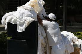 you catch stds from unclean hotel towels and bed linen experts