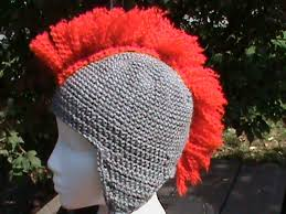 crochet pattern knight helmet free crochet spartan helmet pattern diy knights helmet hat free crochet