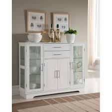 white kitchen storage cabinet k b furniture white wood 4 door kitchen storage cabinet walmart