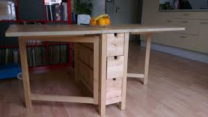 Kitchen Table With Fold Down Sides Ikea Norden Gateleg Table Furnish Your Family Room With Ikea