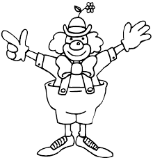 Happy Clown Circus Coloring Pages 30647 Bestofcoloring Com Circus Coloring Page