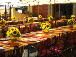 Sunflower Decorations Sunflower Table Decorations Sunflower Decorations Simplicity