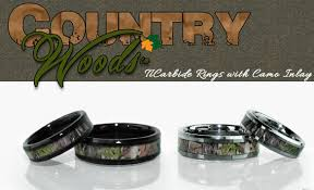 his and camo wedding rings camo wedding rings