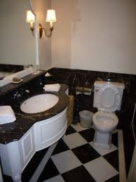 black and white bathroom ideas black and white floral wastebasket