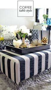confortable antique style coffee table in home decor interior