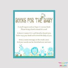 baby shower bring book instead of card baby book shower invitation jankoelling me