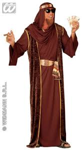 brown costume deluxe arab sheik brown costume 4404a brown christmas by