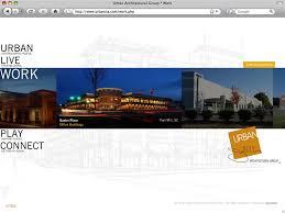 architect website design bignoise web design urban architecture