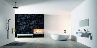 small bathroom wallpaper ideas interior design style sea house yacht luxury beauty tub bathroom