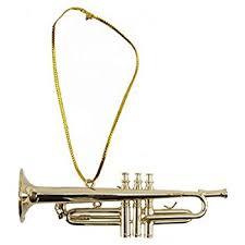 3 5 silver trumpet ornament home kitchen