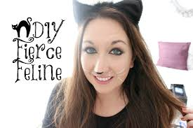 easy cat halloween makeup elle sees beauty blogger in atlanta quick u0026 easy last minute