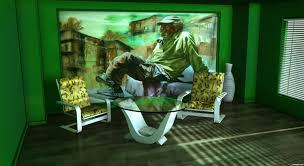 fresh art deco apartment interior 232