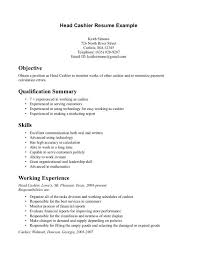 Resume Sles For Cashier Cashier Experience Resume Exles Unforgettable Part Time