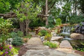 Aquascape Designs Inc Tree And Waterfall Inspired Backyard Traditional Landscape