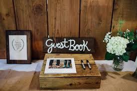 rustic wedding guest book forest wedding something borrowed portland