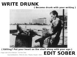 Photo Edit Meme - write drunk edit sober what it means to me chris lang writes