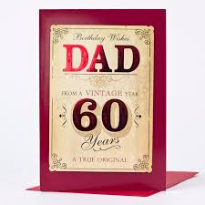 60 years birthday card 60th birthday card vintage year only 1 49