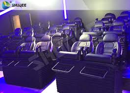 sgs certification 5d cinema movies theater 3 seat black motion