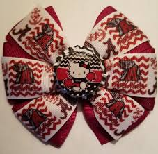 handmade hair bows alabama crimson tide handmade hair bows for sale baby kids in