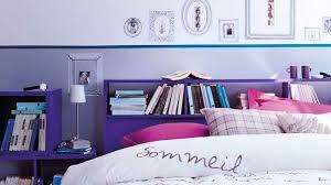 chambre bleu et mauve idée chambre ado violet