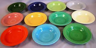dinnerware colors and how to tell from new
